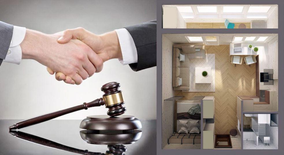 Обращение в суд при перепланировке