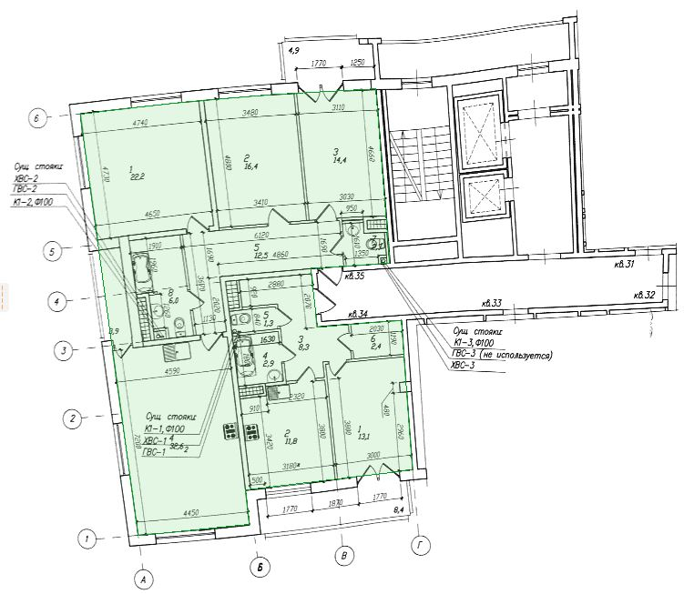 как объединить помещения в двух соседних квартирах