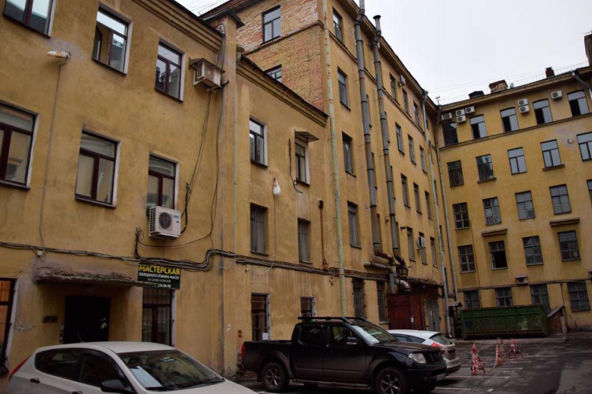 Существующий фасад здания