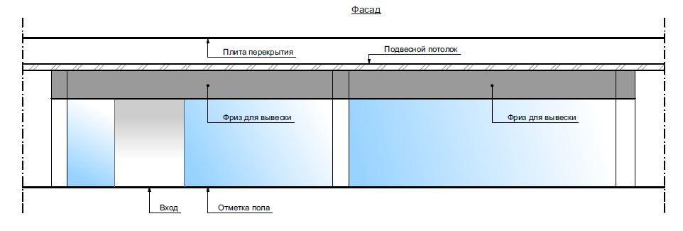 фасад секции