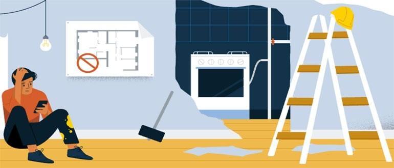 Перепланировка и согласование работ в панельном доме
