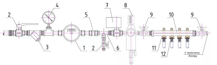 Схема водоподготовки