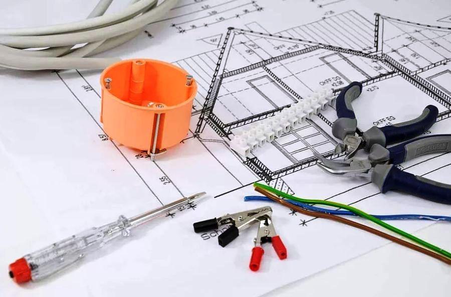 План расположения электроточек
