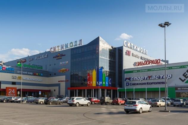 Проект магазина в ТРК Сити Молл
