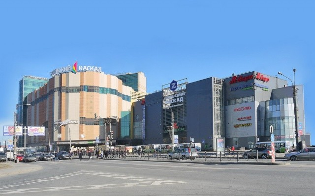 Проект магазина в ТРК Заневский Каскад